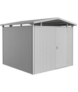 Biohort Metallgerätehaus Panorama® P4, Silber