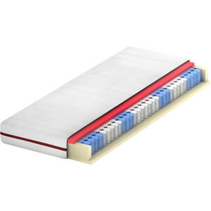 BeCo Active Flex Taschenfederkernmatratze, mit Gelschaum-Auflage