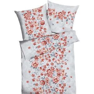 Kaeppel Satin-Bettwäsche, Seidenglanz, floral, Baumwolle