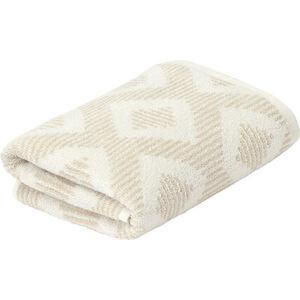 Galeria home Handtuch, Baumwolle, gemustert, beige