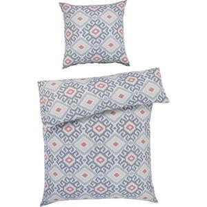 Galeria home Satin-Bettwäsche, gemustert, weich fließend, Baumwolle, mehrfarbig