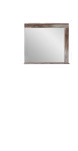 Spiegel in Naturfarbe 'Crown-X'