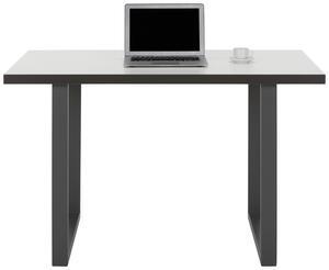 Schreibtisch in Weiß/Grau
