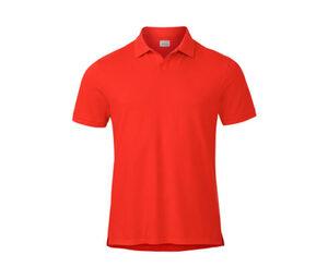 Piqué-Poloshirt, orange