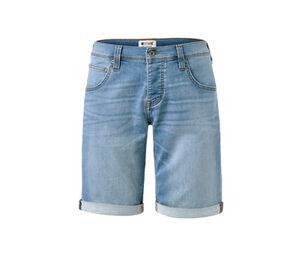 Jeans-Shorts »Mustang«, medium bleach blue denim