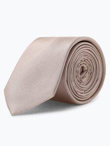 Finshley & Harding Herren Krawatte aus Seide beige Gr. ONE SIZE