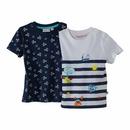Bild 1 von Baby-Jungen-T-Shirt mit maritimen Motiven, 2er-Pack