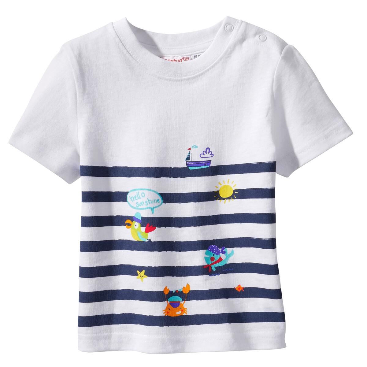 Bild 2 von Baby-Jungen-T-Shirt mit maritimen Motiven, 2er-Pack