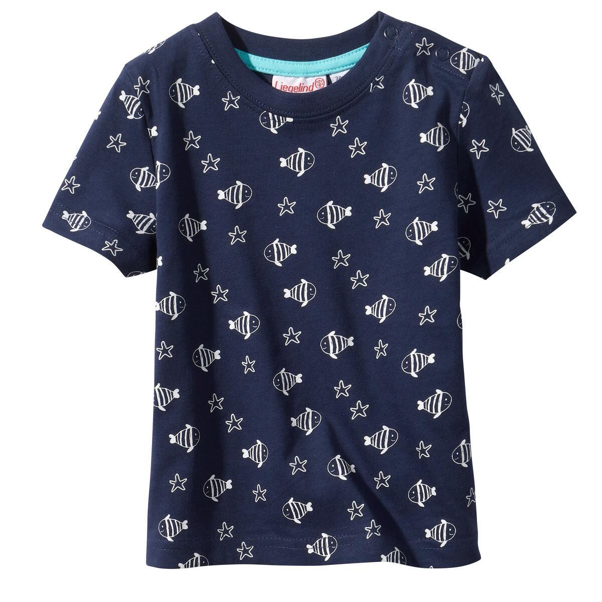 Bild 3 von Baby-Jungen-T-Shirt mit maritimen Motiven, 2er-Pack