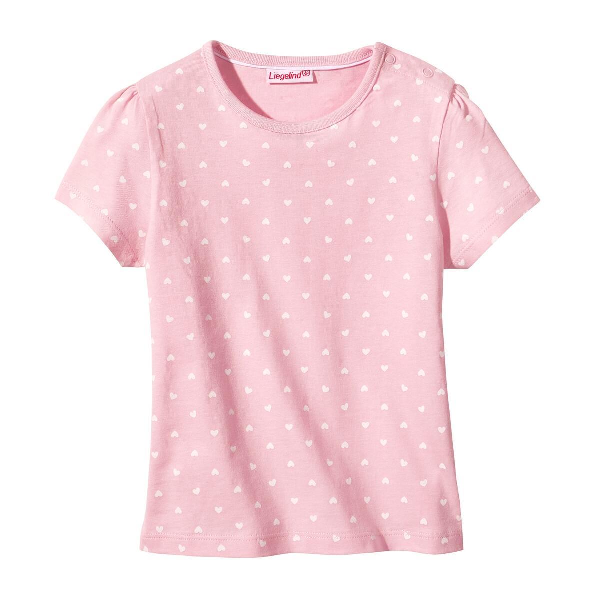 Bild 3 von Baby-Mädchen-T-Shirt mit Seepferdchen, 2er-Pack