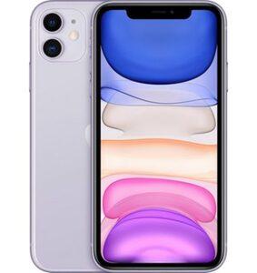 Apple iPhone 11 Smartphone (15,5 cm/6,1 Zoll, 128 GB Speicherplatz, 12 MP Kamera, ohne Strom-Adapter und Kopfhörer)