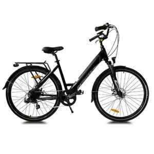 Sidney Urbanbiker City E-Bike 26 Zoll in weiß