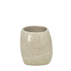Kleine Wolke Zahnputzbecher  5080 226 852 Stone  Sand