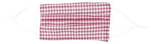 Mundbedeckung - Pink Checks