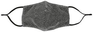 Mundbedeckung- Silver Lurex