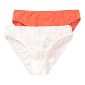 Damen-Minislip mit Punkte-Muster, 2er-Pack