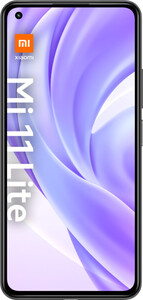 Xiaomi Mi 11 Lite boba black Smartphone (6,55 Zoll, 128 GB, 64 MP + 8 MP + 5 MP, Triple-Kamera, 4.250-mAh, Octa-Core, Fingerabdrucksensor, schwarz)