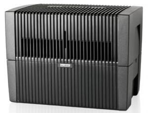 VENTA LW45 Original anthrazit/metallic Luftwäscher (Doppelfunktion: Luftbefeuchter, Luftreiniger)