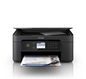 Epson Expression Home XP-4100 schwarz Multifunktionsdrucker (Tintenstrahldrucker, 3-in-1, Scanner, Kopierer, USB, WLAN, Wi-Fi Direct, AirPrint, Cloud Print, Duplex, Randlosdruck)