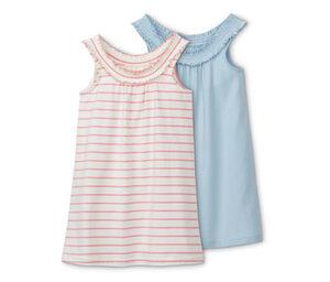2 Baumwoll-Nachthemden