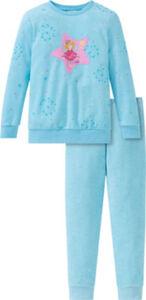 Schiesser Frottee Kinder-Schlafanzug  Sterne langarm#lange Hose 92