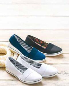 Damen Textil Schuhe