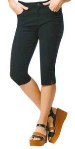 Damen 5-Pocket Capri-Hose