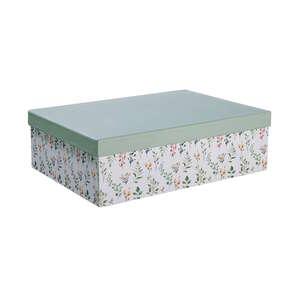 MIA FLEUR Aufbewahrungsbox Floral L 33 x B 24cm