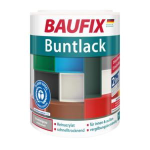 Baufix Buntlack seidenmatt dunkelgrau
