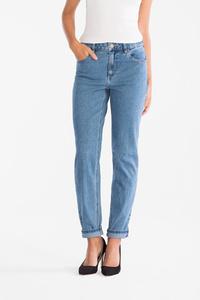 C&A Girlfriend Jeans-Bio-Baumwolle, Blau, Größe: 36 K