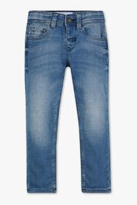 C&A Skinny Jeans-Bio-Baumwolle, Blau, Größe: 92