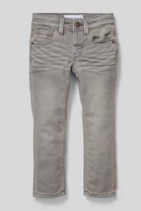 C&A Skinny Jeans-Bio-Baumwolle, Grau, Größe: 92