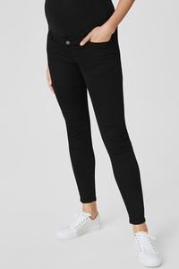 C&A Skinny Jeans-Umstandsjeans, Schwarz, Größe: 34