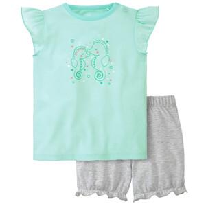 Baby Shorty mit Seepferdchen-Motiv