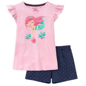 Mädchen Shorty mit Meerjungfrau-Motiv