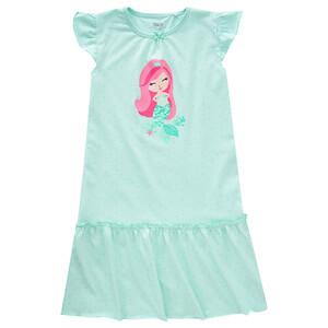 Mädchen Nachhemd mit Meerjungfrau-Motiv