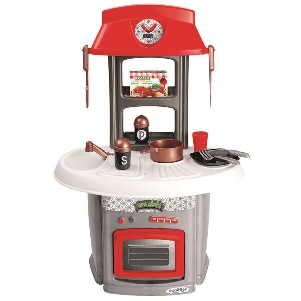 Kinder-Spielküche mit Zubehör 13-teilig
