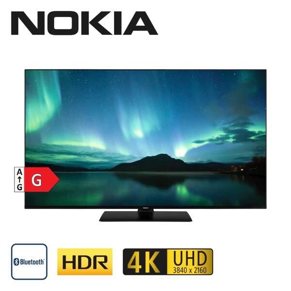 """5500A • 4 x HDMI, 2 x USB, CI+ • integr. Kabel-, Sat- und DVB-T2-Receiver • Maße: H 71,1 x B 123,3 x T 6,6 cm • Energie-Effizienz G (Spektrum A bis G) Bildschirmdiagonale: 55""""/139 cm"""
