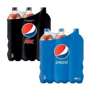 Pepsi* oder Schwip Schwap*(*koffeinhaltig), versch. Sorten,jede 6 x 1,5-Liter-Packung (+ 1,50 Pfand)