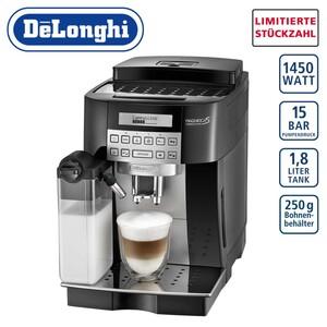 Kaffee-Vollautomat Magnifi ca S Cappuccino • Bedienfeld mit digitalem Display und Direktwahltaste für Cappuccino • abnehmbarer, spülmaschinen-geeigneter Milchbehälter • integrierter Wasse