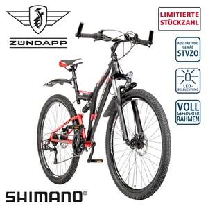 Mountainbike Blue 5.0 26er oder 28er • Shimano Drehgriffschalter • Scheibenbremsen • Rahmenhöhe: 47 cm (26er), 48 cm (28er)
