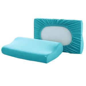 Dreamtex Spannbezüge für Gesundheitskissen, Aqua - 2er-Set