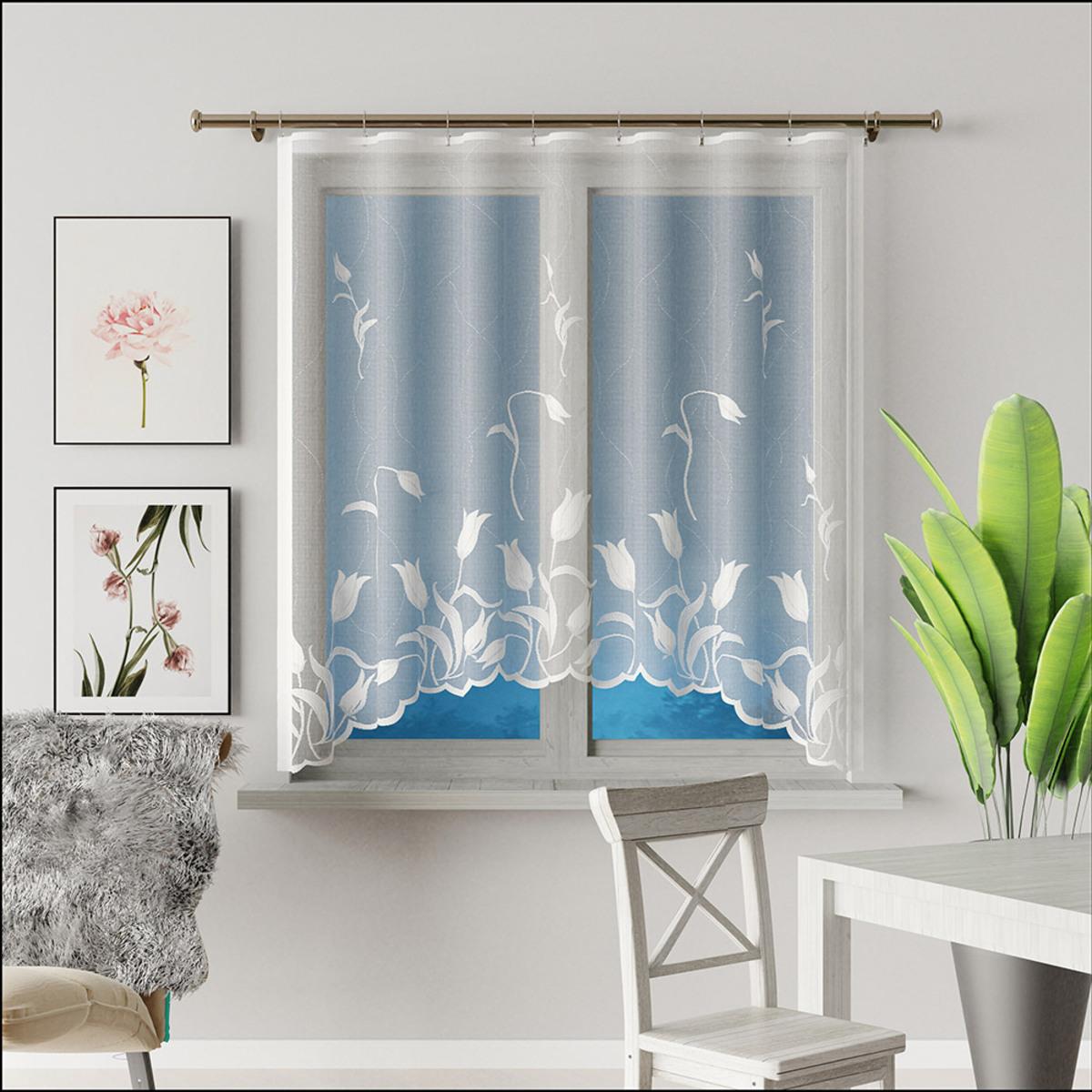 Bild 1 von Bella Casa Bogen-Gardine - Tulpen