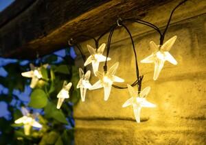 I-Glow LED-Solar-Lichterkette - 20 Sterne