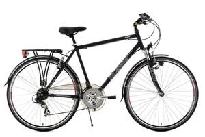 """KS Cycling Trekkingrad Herren 28"""" Vegas Schwarz RH 53 cm Flachlenker"""