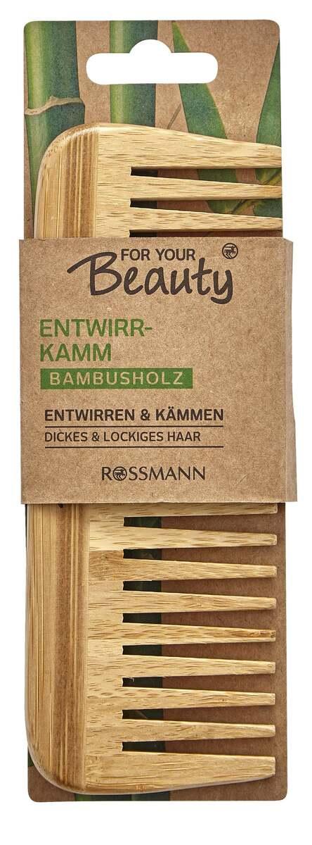 Bild 1 von FOR YOUR Beauty Entwirrkamm Bambus