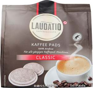 LAUDATIO KAFFEEGENUSS Kaffeepads Classic