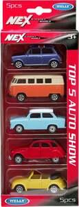 IDEENWELT 5-er Set Welly Modellautos Set 2