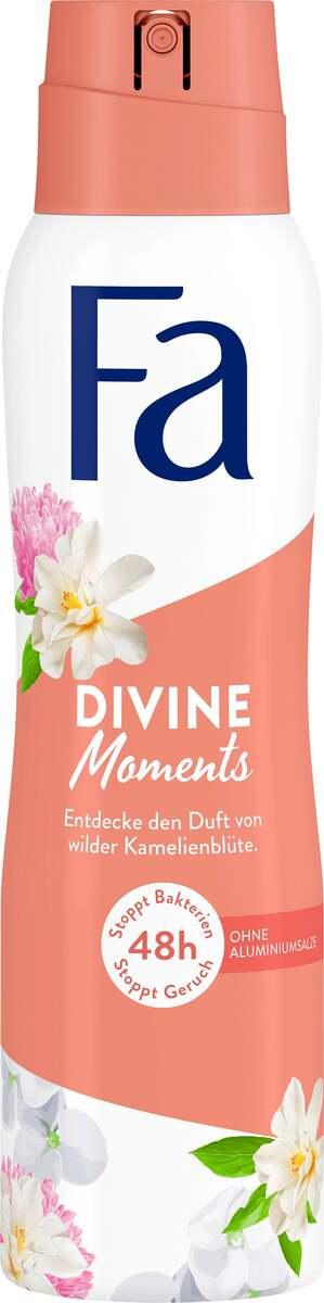 Bild 1 von Fa Deodorant Spray Divine Moments