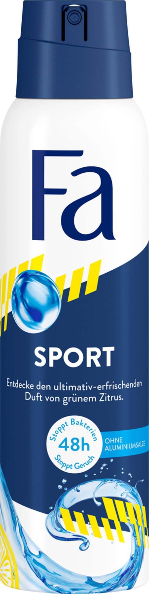 Fa Deodorant Spray Sport 150ml